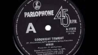 WINGS - GOODNIGHT TONIGHT (SINGLE - 1979).mpg