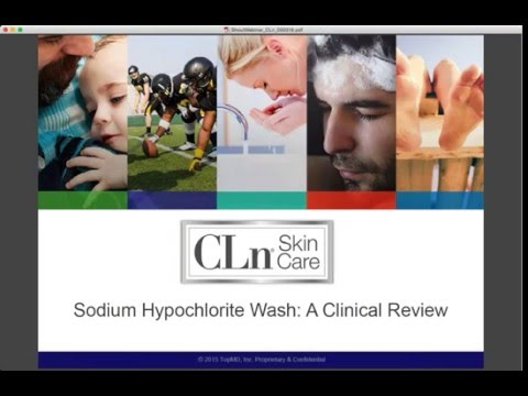 Sodium Hypochlorite Wash: A Clinical Review
