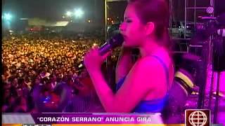 Corazón Serrano anunció gira en Chile y Estados Unidos