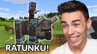 Zostałem ZAATAKOWANY w Minecraft!