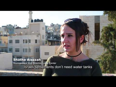 Water Crisis in Palestinian Refugee Camps | Water Apartheid in the West Bank
