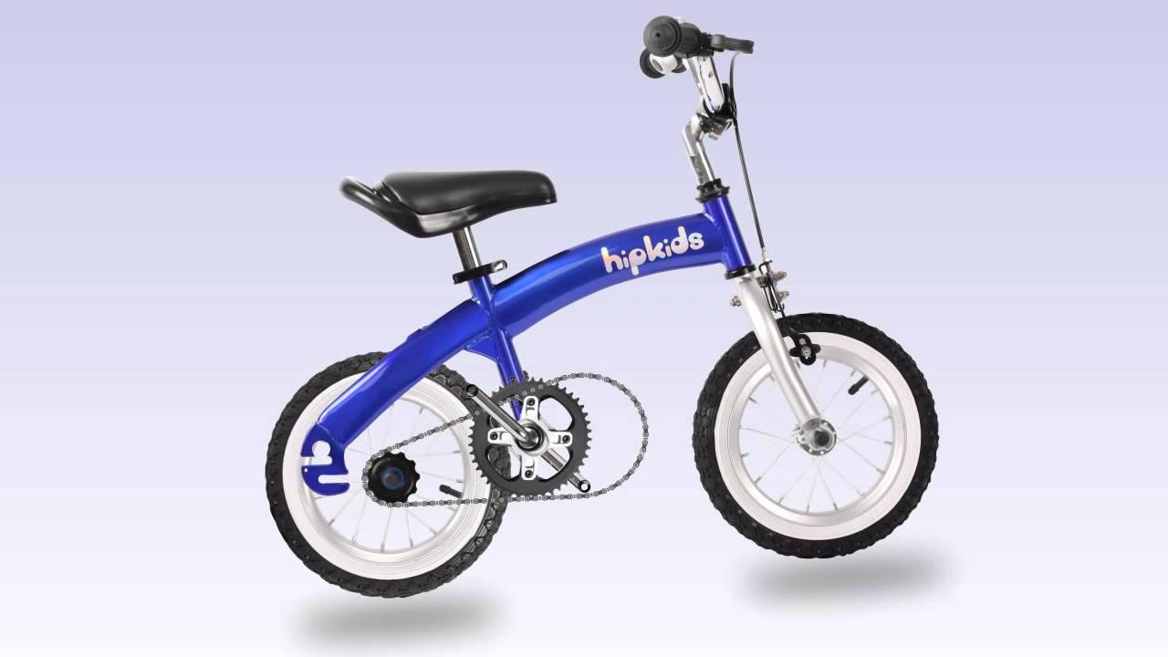 Hip Kids 2 In 1 Balance Bike Youtube