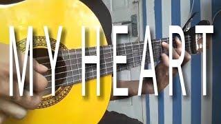 Download My Heart Acha & Irwansyah cover-guitar fingerstyle Mp3