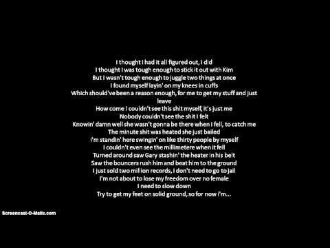 Eminem- Say Goodbye Hollywood 2013 Lyrics