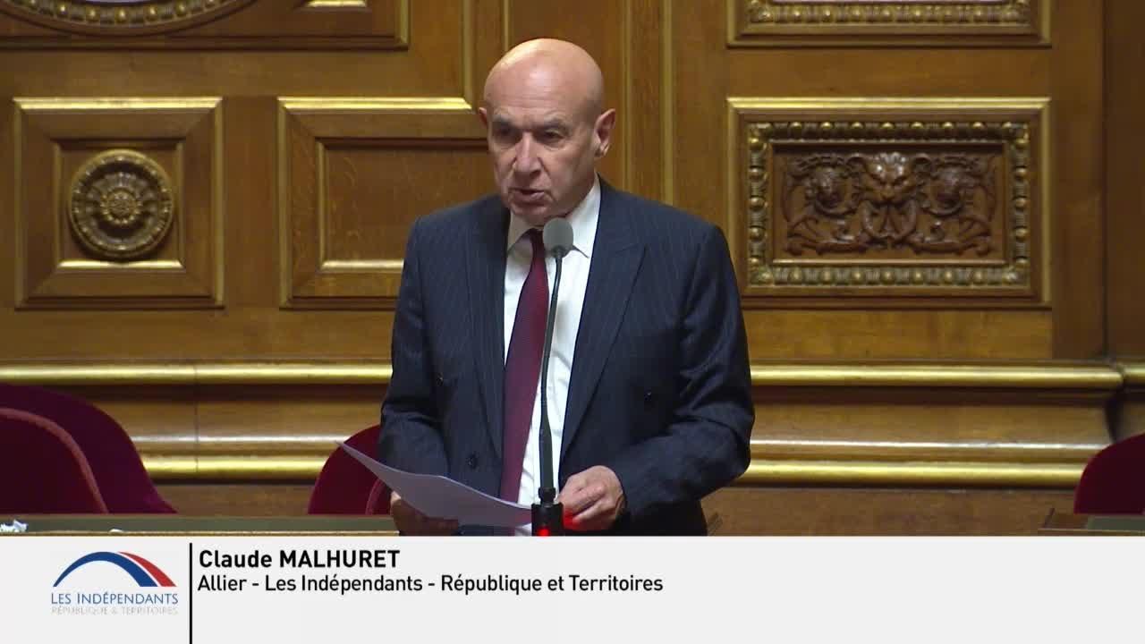 Claude MALHURET : QAG suite à l'assassinat de Samuel PATY