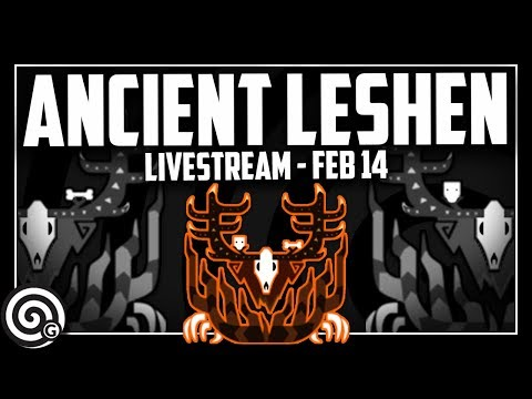 ANCIENT LESHEN - Livestream | Monster Hunter World thumbnail