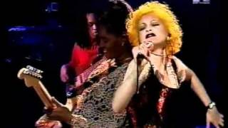 Cyndi Lauper Hey Now  Girls Just Wanna Have Fun Live on UK TV