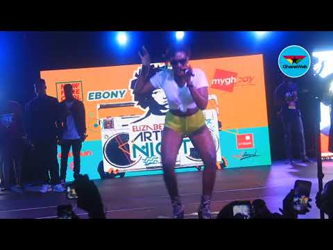 """Ebony performs """"Poison"""" at Now Here Cool concert"""