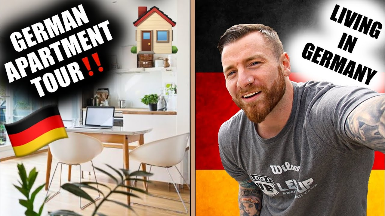 LIVING in GERMANY 🇩🇪 GERMAN APARTMENT TOUR 🏠