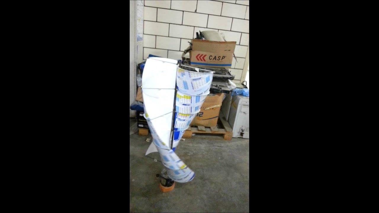 vertical helix wind turbine assemble youtube. Black Bedroom Furniture Sets. Home Design Ideas