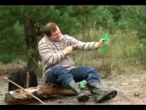 Солевая грелка - YouTube