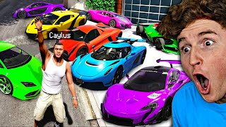 Collecting RARE Trillionaire SUPERCARS In GTA 5.. (Mods)