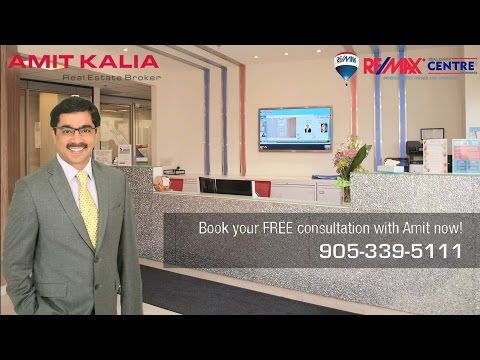 Amit Kalia, Broker, Realtor RE/MAX Square One, Mississauga