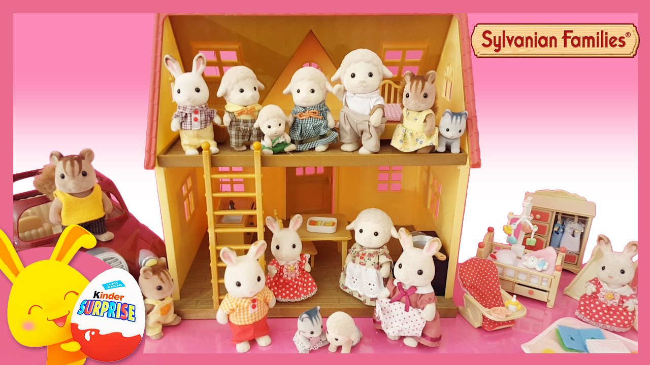 sylvanian families en fran ais la grande maison jouet pour enfants youtube. Black Bedroom Furniture Sets. Home Design Ideas