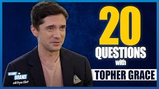 Topher Grace Plays 20 Questions