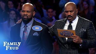 Eric was BORN READY for Fast Money! | Family Feud