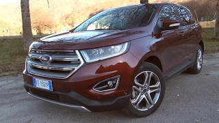 Ford Edge 2.0 TDCI 210hp Titanium Powershift - Prova su Strada -
