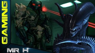 AVP2 Aliens VS Predator 2 Retro Game Walkthrough ALIEN MISSION 5