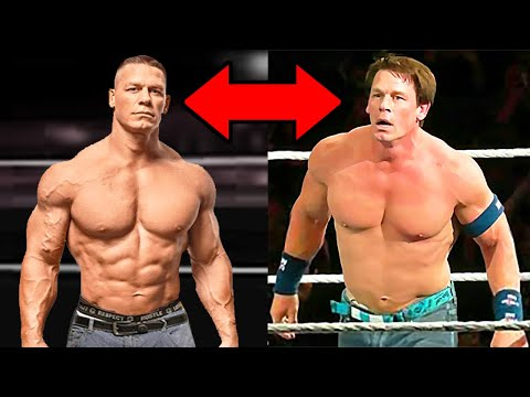 Why Is John Cena LOSING All His MUSCLES? 5 Shocking WWE Body Transformations 2020