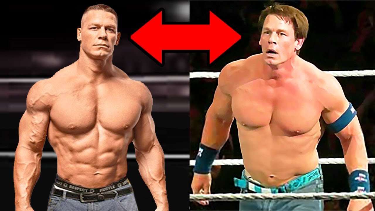Why Is John Cena Losing All His Muscles 5 Shocking Wwe Body Transformations 2020 Youtube