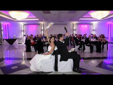 The Newlywed Game at a Wedding Reception (aka The Shoe Game) - Pifemaster Productions