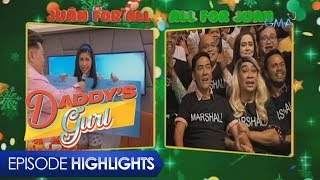Download lagu Daddy's Gurl: Stacy goes to 'Eat Bulaga'   Episode 57