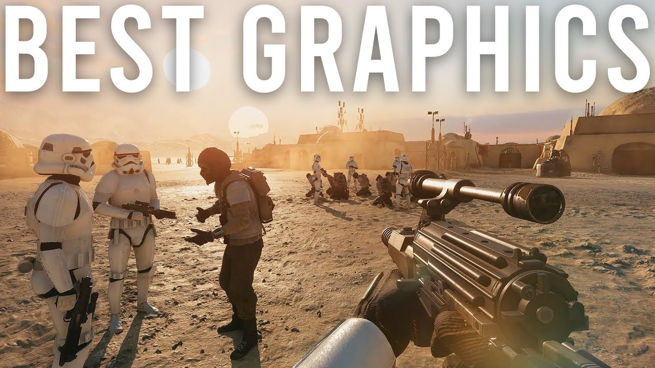 Beste Grafik Star Wars Battlefront 2 + video