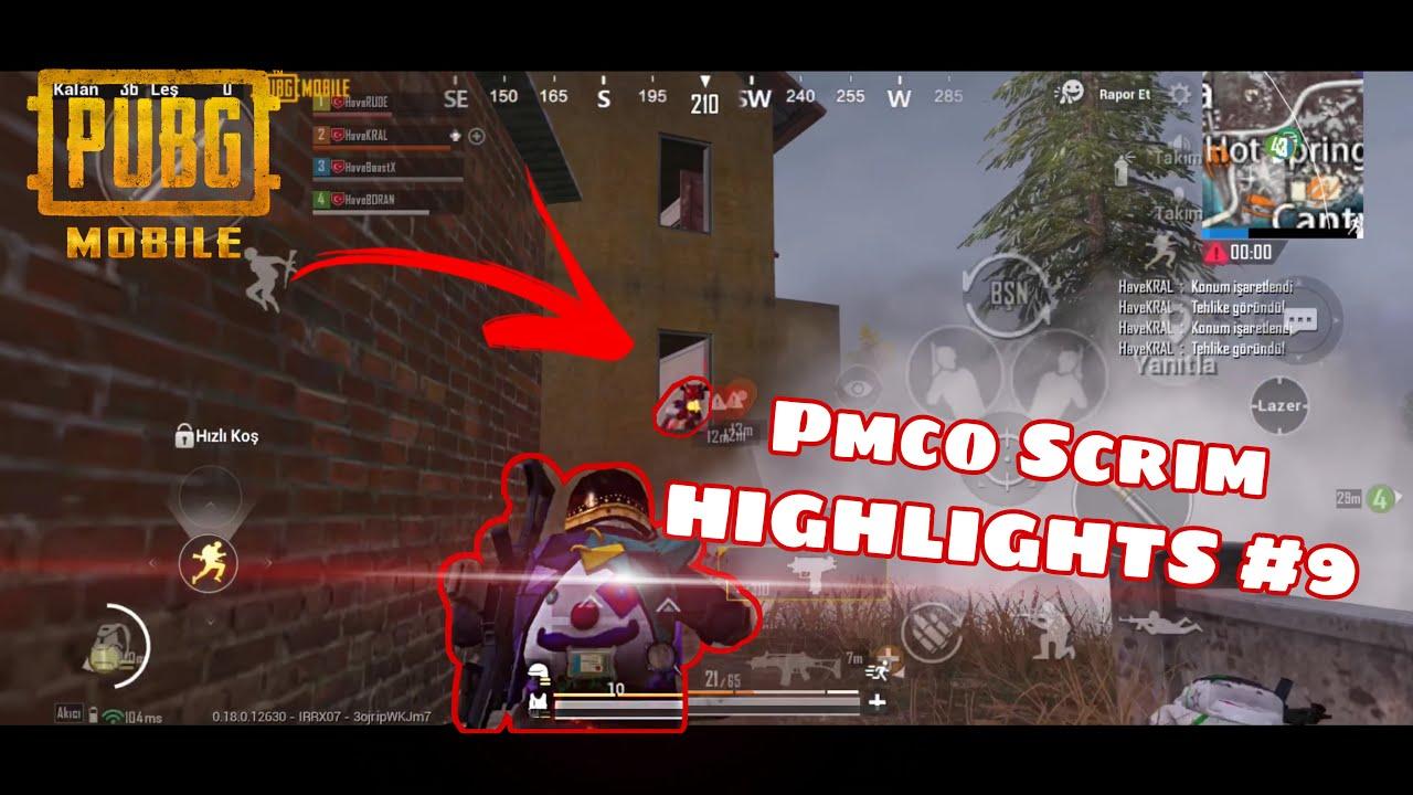 BeastX Pmco Scrim HIGHLIGHTS #9 | PUBG MOBILE