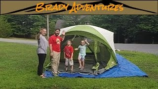 Coleman Evanston 6 Screened Porch Tent Setup and Teardown & Sale! Coleman Evanston 8-Person Porch Dome Tent only $160.22 + Reviews