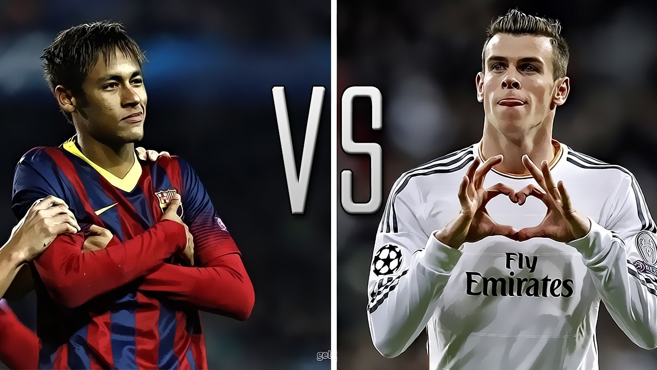 Gareth Bale vs Neymar Jr - 2014 ● Skills & Goals ● HD