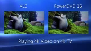 PowerDVD 4K Playback Comparison Video