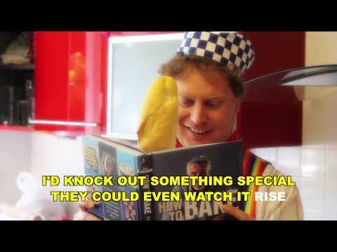 The Lancashire Hotpots - The Baking Song (karaoke/instrumental version)