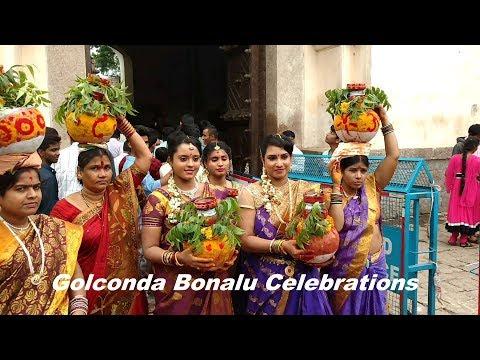 Golkonda Bonalu  2016 l Bonalu Celebrations in  Hyderabad l Telangana l India