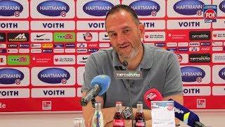 Pressegespräch vor dem Heimspiel gegen den 1.FC Magdeburg