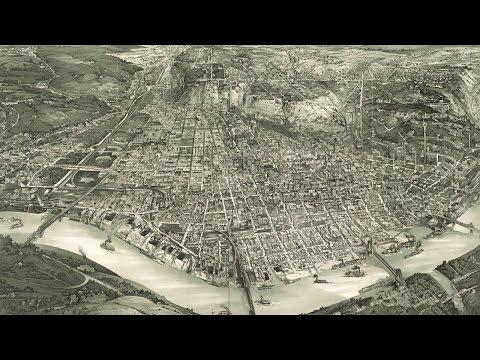 Cincinnati Ohio History and Cartography (1900)