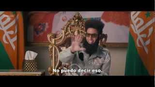 El Dictador - Trailer 2 Oficial Subtitulado Latino - FULL HD