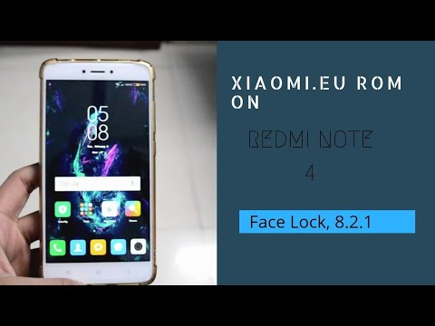 Xiaomi Eu Official 8 2 1 Rom on Redmi Note 4 ( Face lock ) Better than Miui  Pro Rom