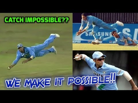 Top 10 Sensational Yuvraj and Kaif Catches in Cricket History  Making Impossible Catches Possible