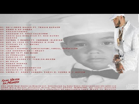 Conozcan El Tracklist Oficial: (El Album Emmanuel  De Anuel AA)