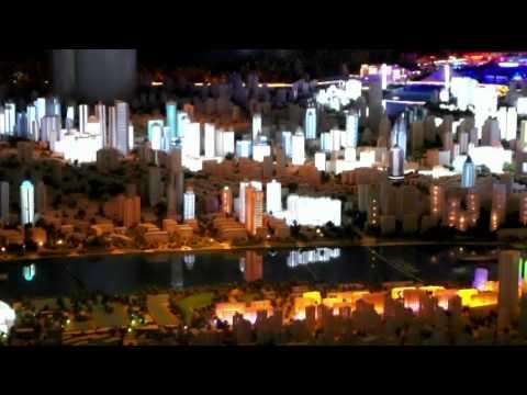 Urban planning exhibition Shanghai