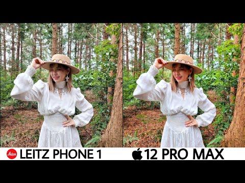 LEITZ Phone 1 vs iPhone 12 Pro Max Camera Test