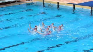 澳門公開分齡花樣游泳錦標賽~香港韻律泳團體冠軍
