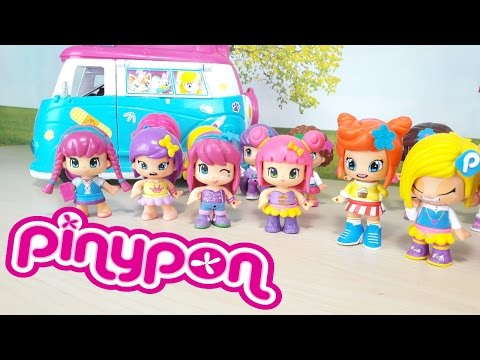 MONDO PINYPON italiano, Ep. 2 giochi per bambine, divertiamoci con la moda e 20 pinypon!