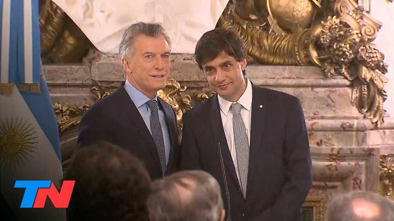 La asunción de Hernán Lacunza como ministro de Economía