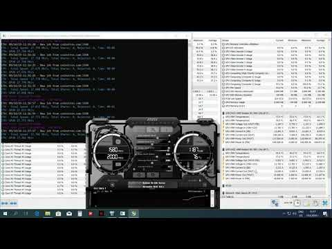 AMD Radeon RX 590 Mining ETH Ethereum Hashrate & Overclocking With Claymore