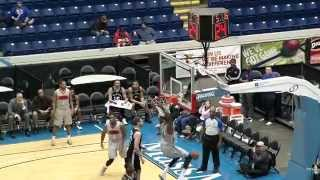 Willie Reed Monster Dunks Against Austin Toros