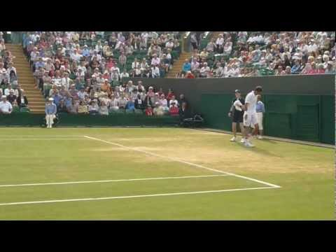 Recorded LIVE from FRONT ROW: Marin Cilic vs Sam Querry (HD) - Wimbledon 2012