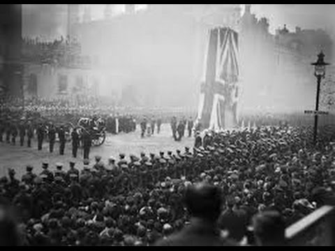 "WW1 Poem:~""The Cenotaph"" by Charlotte Mew read by Anthony Davies"