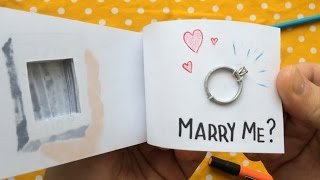 Flipbook Proposal with Hidden Engagement Ring Compartment (ORIGINAL)