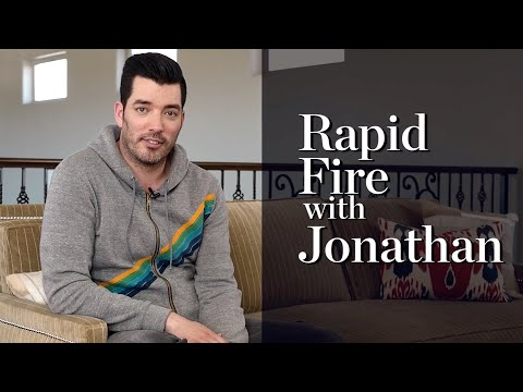 Rapid Fire Questions with Jonathan Scott